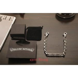 Chrome hearts CH正品代购克罗心官网双勾扣裤链包链腰链L040