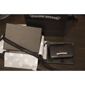 Chrome Hearts CH官网克罗心正品旗舰店短款两折卡包钱包