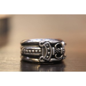Chrome hearts CH官网克罗心正品代购匕首宝剑戒指指环R022