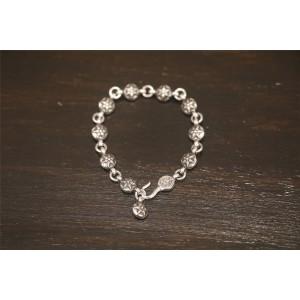 Chrome hearts CH正品克罗心官网价格六芒星圆珠手链H054