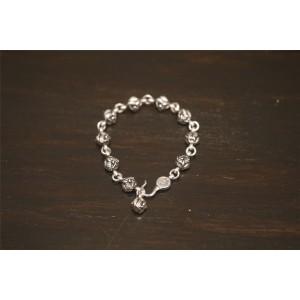 Chrome hearts CH官网正版克罗心去哪买龙头圆珠手链H052