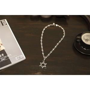 Chrome hearts CH官网克罗心韩国代购六芒星项链N035