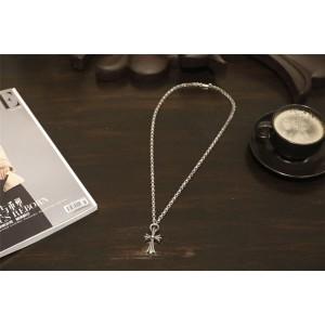 Chrome hearts CH正品克罗心香港代购小十字架固定粗环项链N004